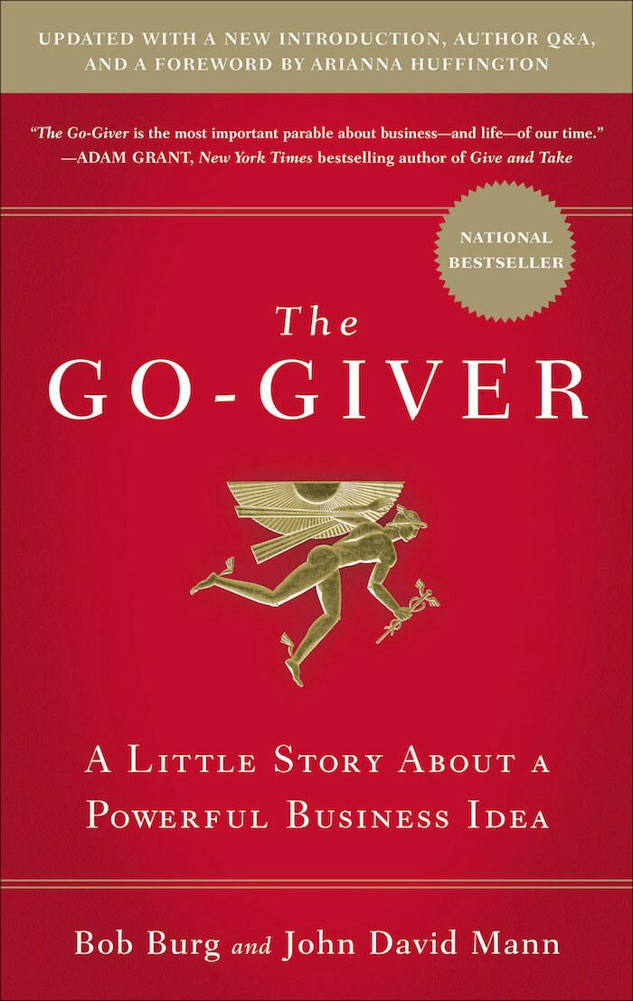 The Go Giver Bob Burg and John David Mann Book Cover