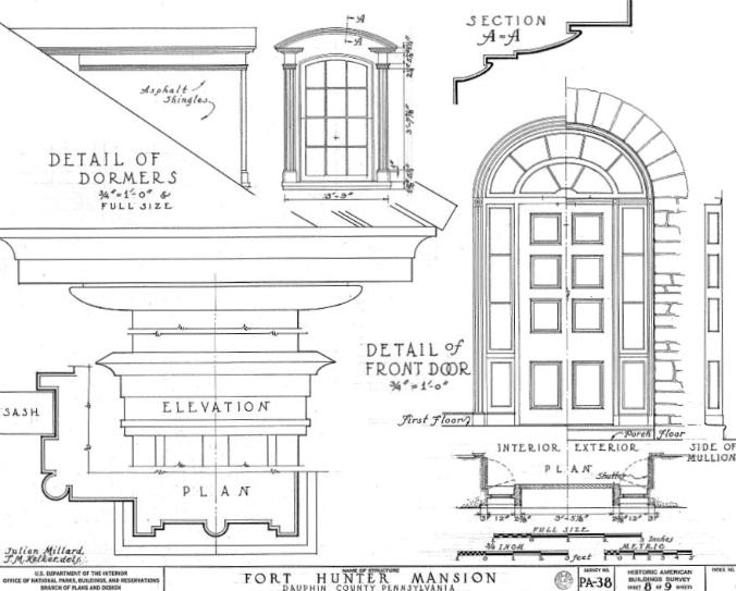 fort hunter historic mansion rendering