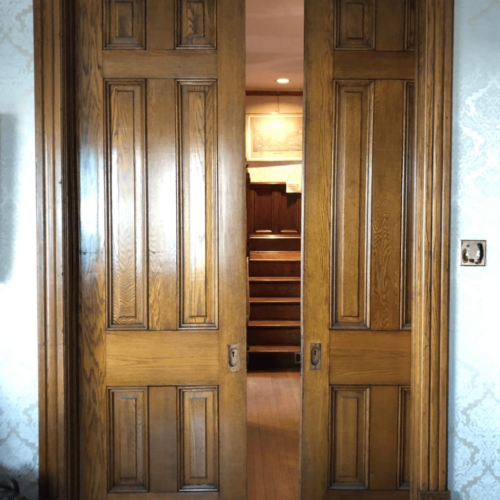 oller house waynesboro interior pocket doors
