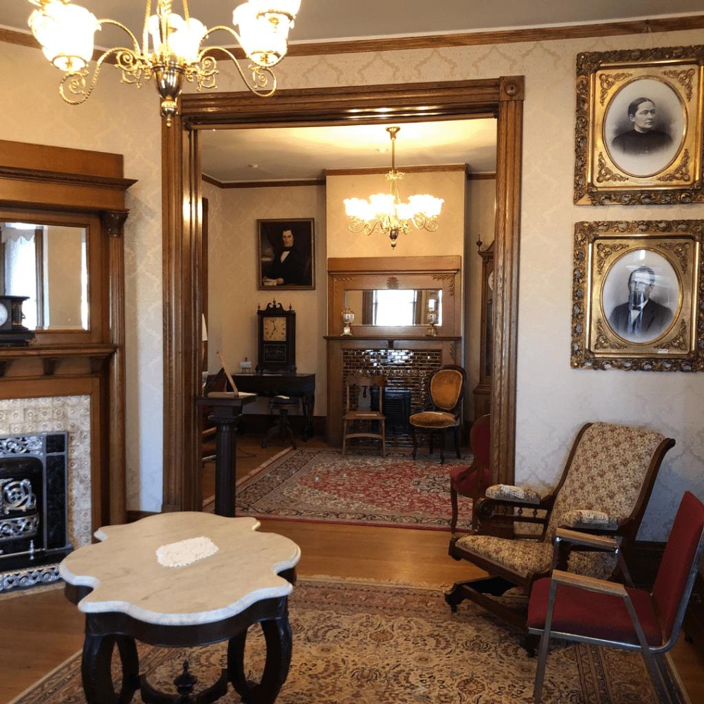 oller house waynesboro interior