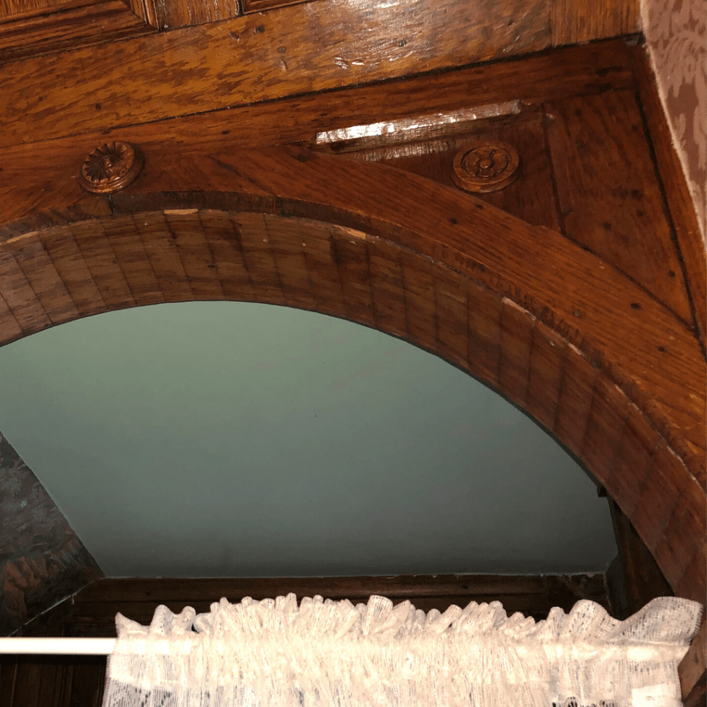 oller house waynesboro staircase wood
