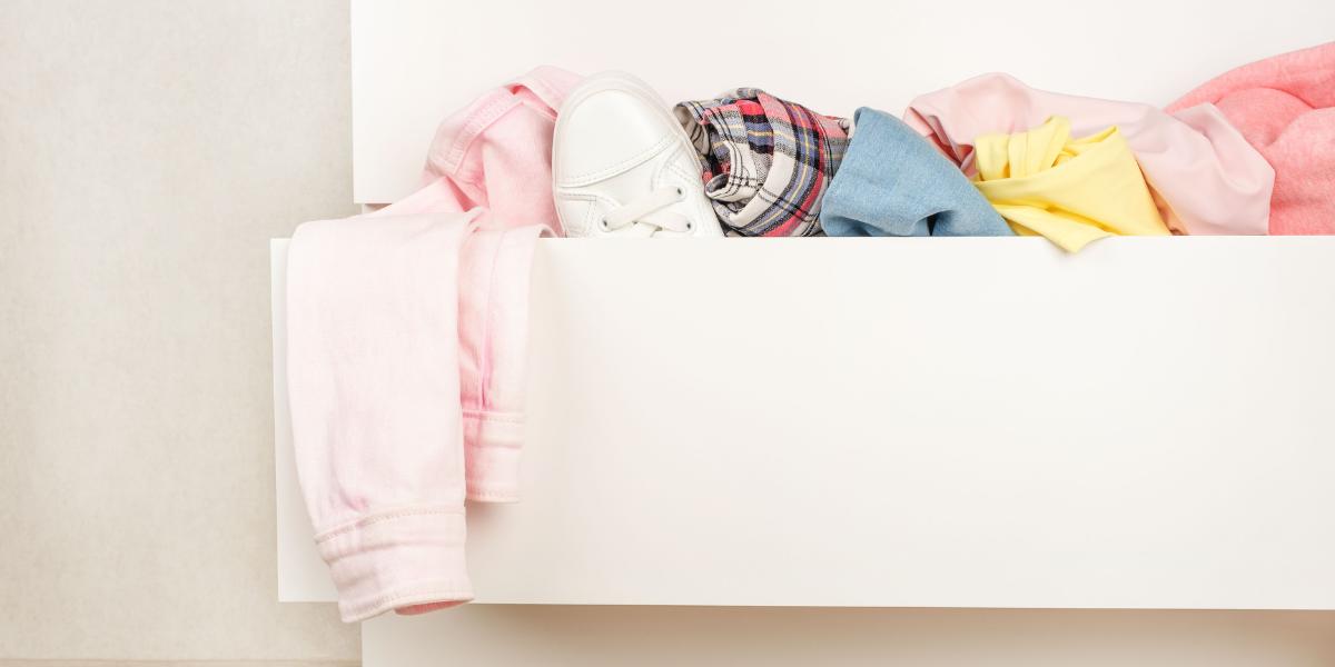 Designing around children and pets messy drawers