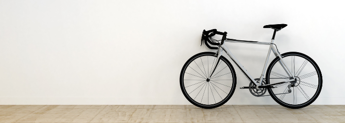Work-life balance bike exercise