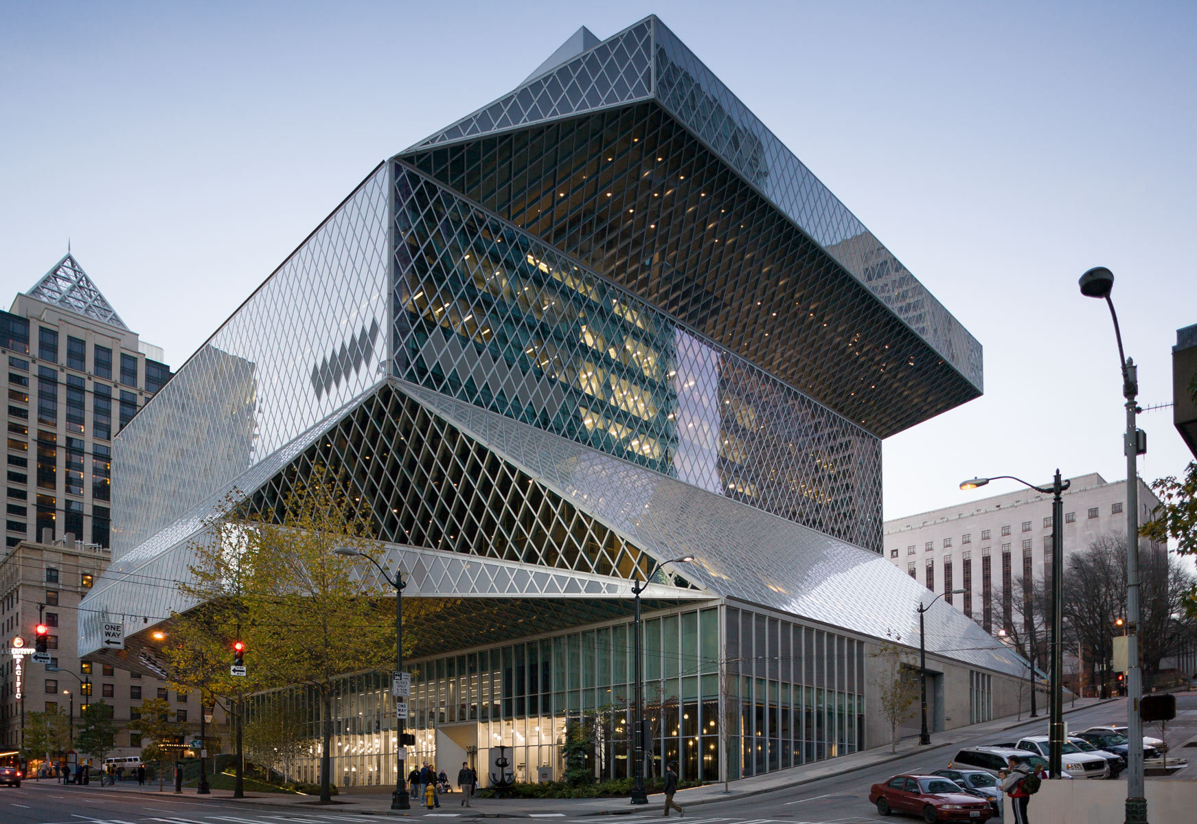 Gable Design Seattle Central Library
