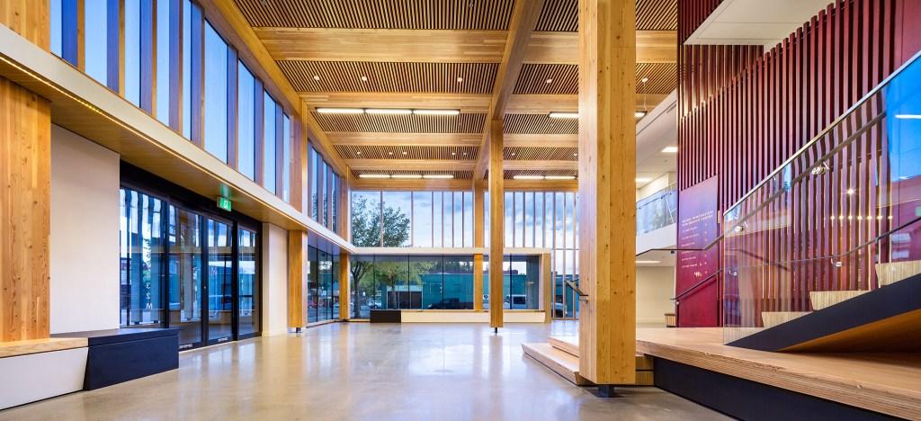 Gable Design Wood Innovation and Design Centre